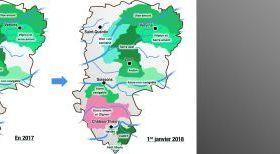 Evolution territoriale des syndicats de rivières dans l'Aisne (actualisation)