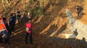 Inauguration des travaux de maîtrise du ruissellement et de l'érosion sur le bassin versant du ruisseau de Landouzy