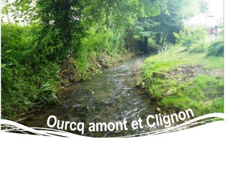 Ourcq amont et Clignon