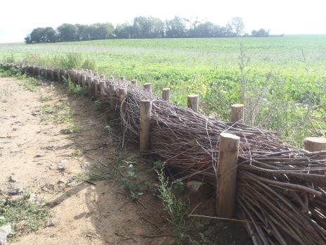Travaux de maîtrise de l'érosion et du ruissellement sur la commune de Mercin-et-Vaux - Terminés