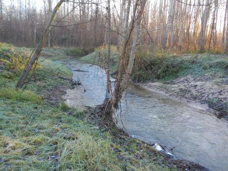 Dérasement du seuil du moulin de Brumetz - Terminé
