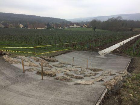 Travaux de maîtrise du ruissellement et de l'érosion sur le bassin versant du ru de Nesles (travaux terminés)