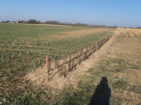 Travaux de maîtrise du ruissellement et de l'érosion sur le bassin versant du ruisseau de Landouzy