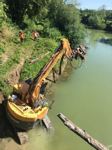 Programme de désembâclement de la rivière Aisne - Programme 2 - Tranche 4